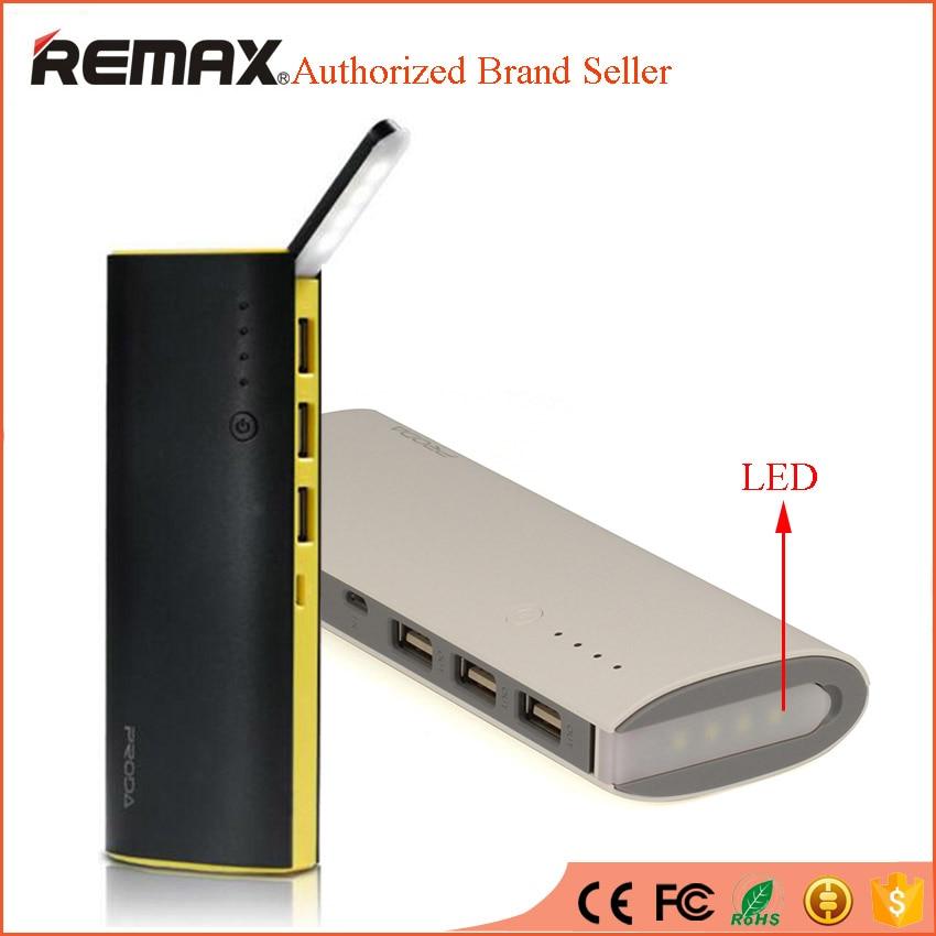 imágenes para Remax banco portable de la energía 12000 mah led camping externa powerbank móvil cargador de batería de reserva para iphone 6 s samsung smartphone