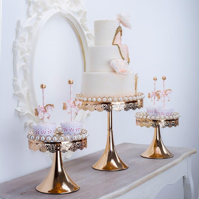 Plateau à gâteaux palette de fruits en europe   Présentoir à gâteaux pour table à dessert, rangement de bijoux cosmétiques, décoration, pendule à dessert