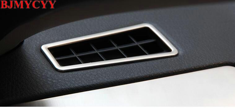 BJMYCYY Car stilimin e prizës së ajrit në panelin e instrumenteve - Aksesorë të brendshëm të makinave