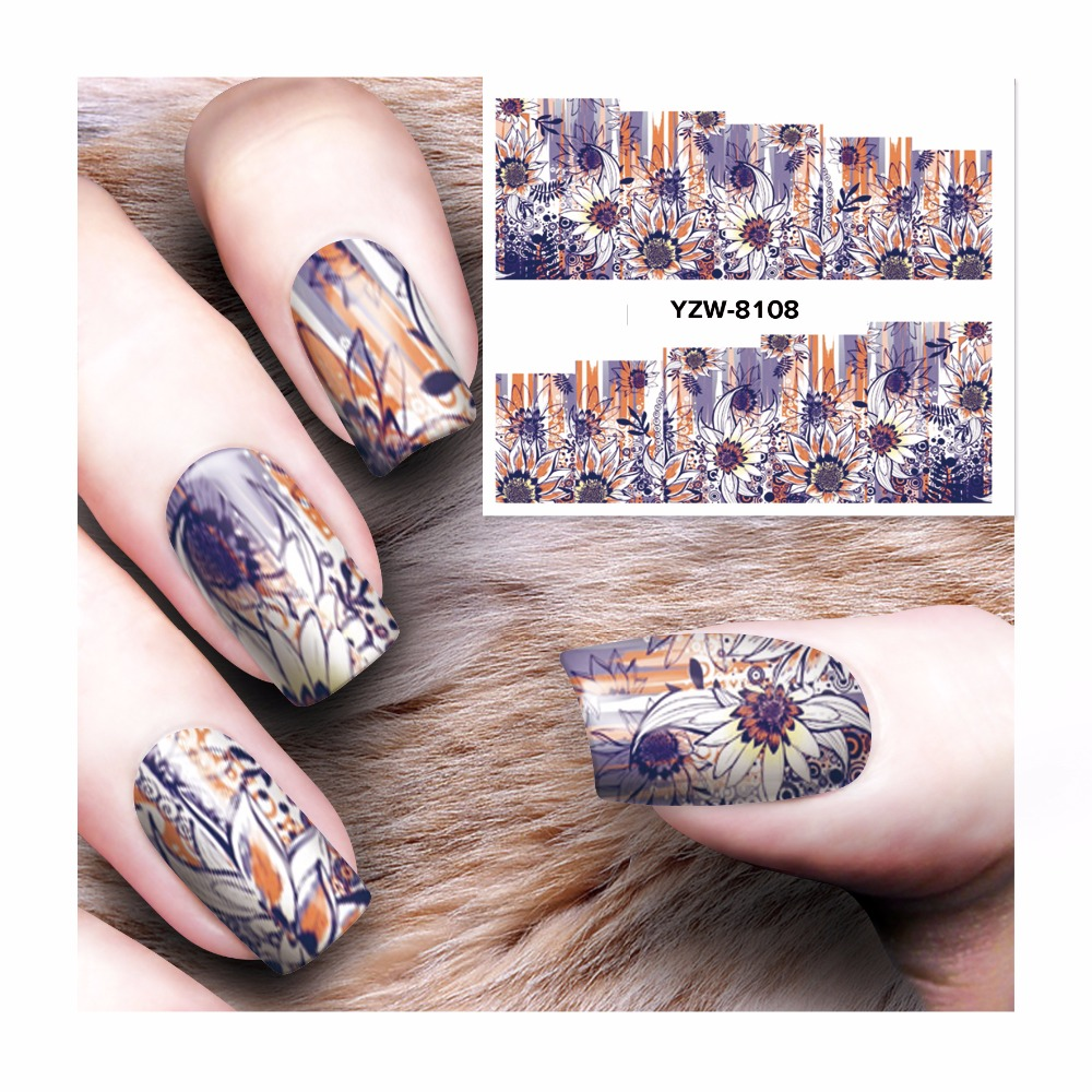 Fwc New Arrival Water Decals Transfer Stickers Nail Art