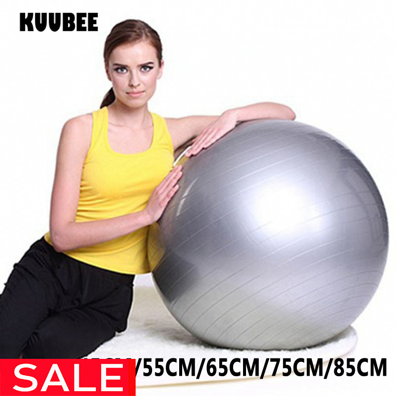 Yoga-Balls Gym Balance Fitball Exercise Fitness Pilates with Size-Vedio 75/85CM