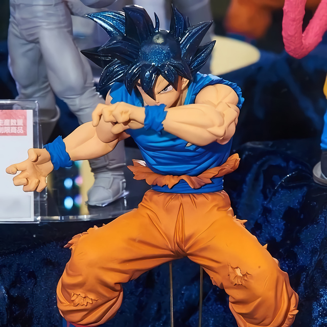 Tronzo Original Banpresto Action Figure Dragon Ball Super Sangue De BOS Goku Saiyan Ultra Instinto PVC Modelo Figura Boneca Brinquedos
