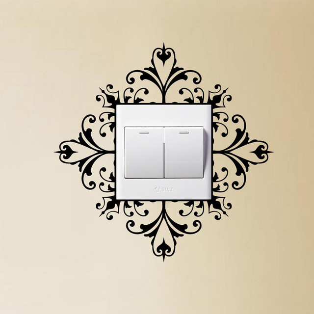 Light Switch Wall Art Decal Stickers Modern Home Decoration