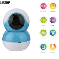 LESHP Wi Fi Smart IP Camera PTZ Full HD Home Baby Monitor Surveillance Camera Security Night Vision P2P Network Video Camera