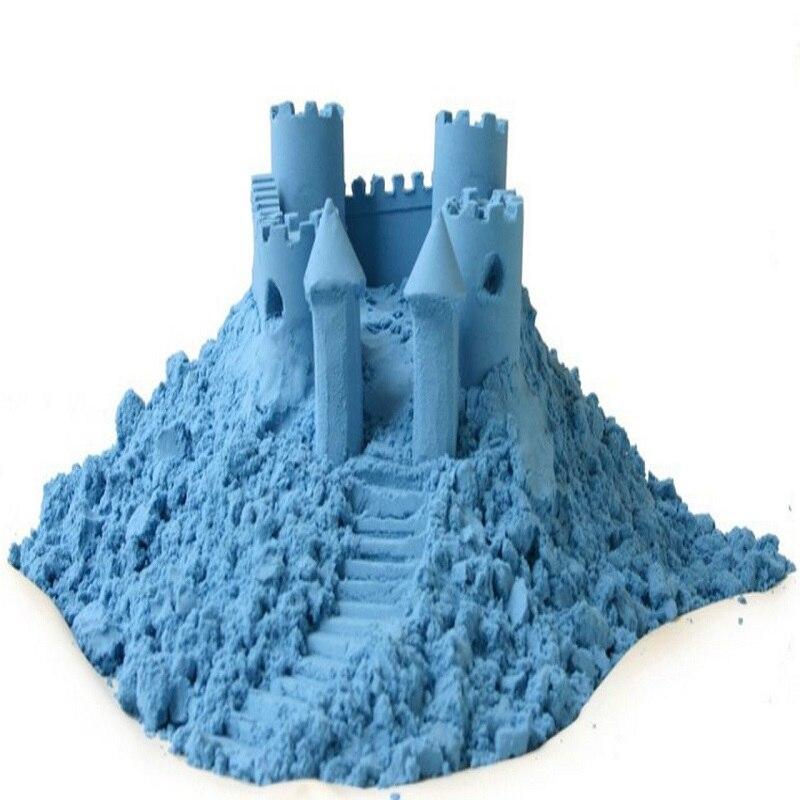 Cor argila plasticina Cor Areia Areia Cinética Magia Lodo Montessory Educação Crianças Brinquedos macios Crianças Criatividade 1 kg