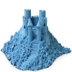 Plastilina arcilla de Color arena cinética magia Montessory niños educación Slime juguetes suaves niños creatividad 1 kg