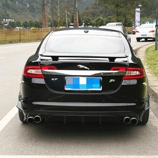 Alerón trasero ABS con imprimación, alerón de alerón trasero para maletero de coche, alerón de alerón para Jaguar XF 2012 2013 2014 2015