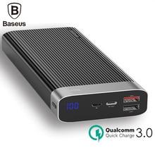 Baseus 20000mAh Quick Charge 3.0 Power Bank 20000 mAh Usb Charger Portable Powerbank For Iphone Xiaomi mi 9