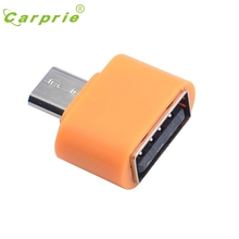 CARPRIE OTG Mini Adapter Converter Micro USB To USB For Android SmartPhone OR Mar9 MotherLander