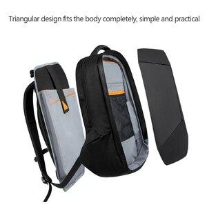Image 5 - أصيلة شاومي المهوس حقيبة الظهر مقاوم للماء 15.6 بوصة محمول سستة تصميم حقائب الأعمال السفر باستخدام Teenager الرجال النساء حقيبة