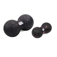 EPP Massage Ball Fitness Peanut Ball Crossfit Therapy Gym Relax Exercise Lacrosse Ball For Yoga Free