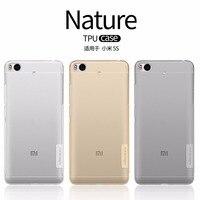Xiaomi Mi5s Case Cover NILLKIN Nature Clear TPU Transparent Soft Case For Xiaomi Mi5s Luxury Brand
