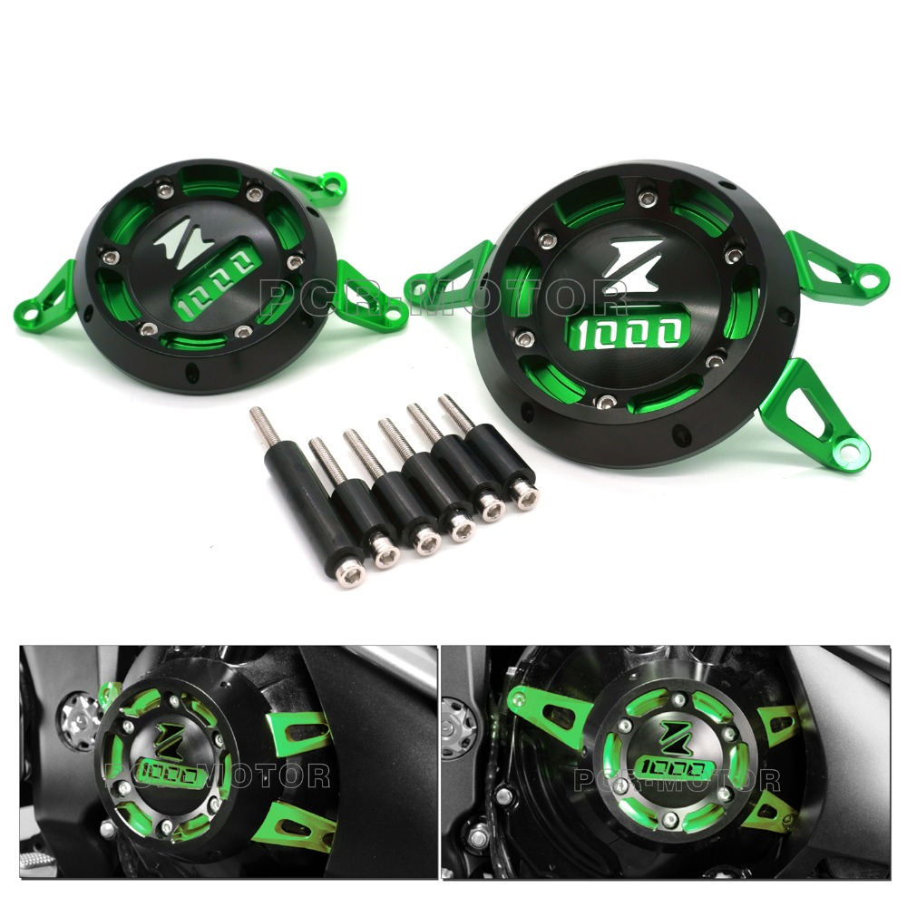 New Green Motorcycle Engine Stator Cover Protective Cover For KAWASAKI Z1000 2010 2016 Z1000SX 2011 2015