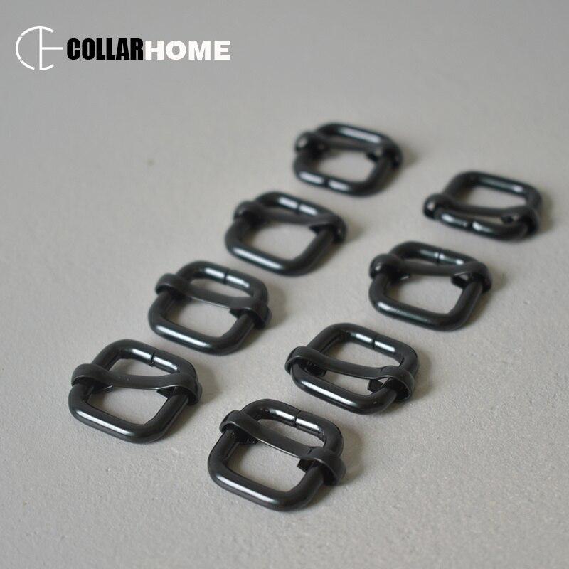 """Lot de 100 métal soudé 1/"""" D-Ring Paracord Bracelets Chien Pet colliers laisses"""