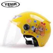 48-54cm Kids half helmet, child boys girls motorcycle helmet,Children Helmet,safe Approved,Christmas gifts toy