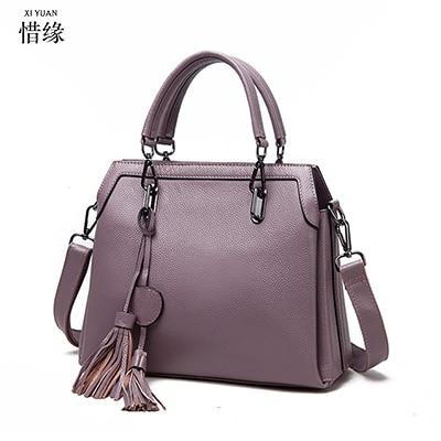 XIYUAN BRAND hot Tassel Women blue Bag Leather Handbags Cross Body Shoulder Bags Fashion Messenger Bag Handbag Bolsas Femininas все цены