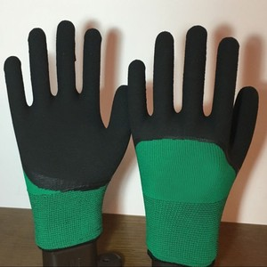 Домашние водонепроницаемые перчатки, безопасные теплые дышащие рабочие перчатки для защиты рук, Нескользящие латексные рукавицы для домаш...