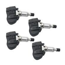 (4) 52933 D9100 433Mhz Car Tire TPMS Tire Pressure Monitor Sensor For Kia Cadenza k7 17 18 Sportage / NIRO 17 19 SORENTO 18 19