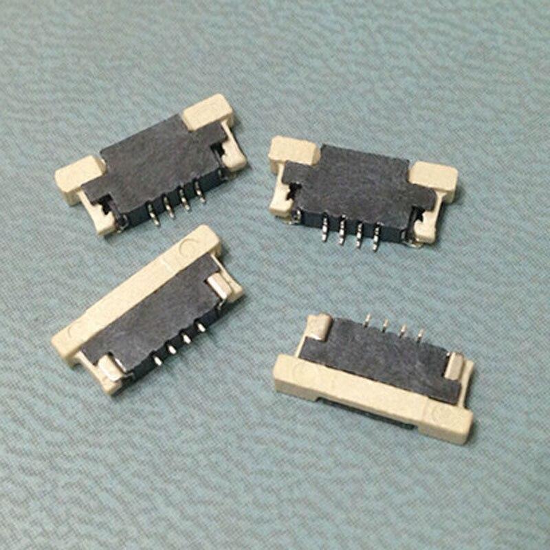4 Pin Fpc Connector 1 0 Spacing Drawer Uplink Type Flat