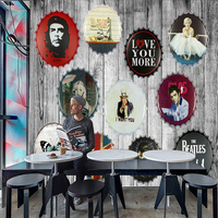 Large European Style Mural Wallpaper KTV Bar Background Wall Paper Restaurant Cafe Shop Custom Wallpaper Beer