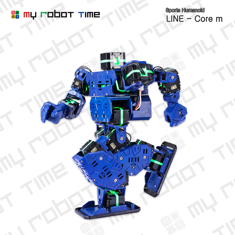 US $799 0 |My Robot Time LINE Core m Educational Programmable LED Humanoid  Robot Kit for High School Robotics Program STEM Project-in Action & Toy