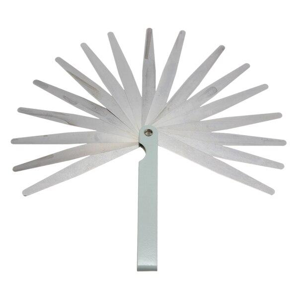Wholesale 0.02 To 1mm 17 Blade Thickness Gap Metric Filler Feeler Gauge Measure Tool Drafting Supplies
