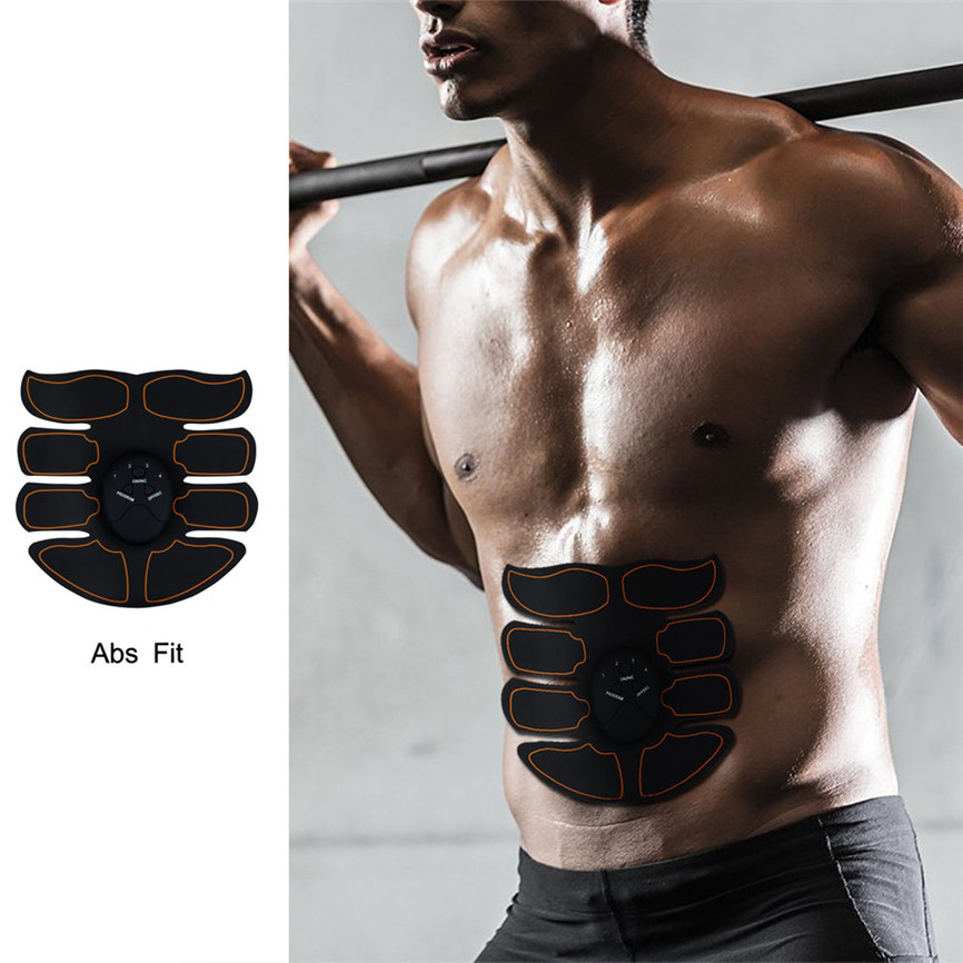 Muscle Trainer Remote Control Abdominal Muscle Trainer Smart Body Building Fitness Silica gel Dropshipping May#5