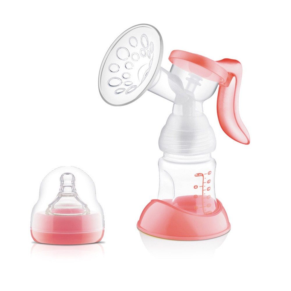 Manual-Breast-Feeding-Pump-Original-Manual-Breast-Milk-Silicon-PP-BPA-Free-With-Milk-Bottle-Nipple-With-Sucking-Function-Breast-Pumps-T0100 (1)