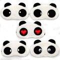 1 pcs Panda Cochilo Sombra Olho Dormir Máscara de Olho Bonito Dos Desenhos Animados Cobertura Dormir Viagens Resto Blindfold Máscara de Dormir Olhos Relaxante Ajuda ferramentas