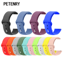 20mm Silicone Soft Bands for Xiaomi Huami Amazfit Bip BIT Strap Belt Watch Wristband for Galaxy Watch 42mm for Gear S4 Bracelet