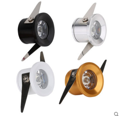 Led Mini Downlight Under Cabinet Spot Light 3w For Ceiling Recessed Lamp Ac85 265v Down Lights Free Shipping in Downlights from Lights Lighting