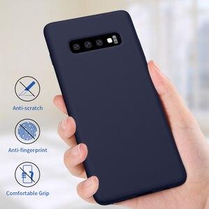 Image 2 - Coque Silicone liquide Nillkin pour Samsung Galaxy S10 coque 6.1 pour Samsung S10 Plus 6.4 S10e/S10 Lite housse de protection 5.8