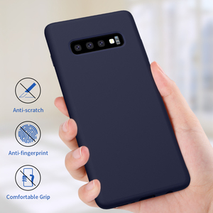 Image 2 - Жидкий силиконовый чехол Nillkin для Samsung Galaxy S10 чехол 6,1 для Samsung S10 Plus 6,4 S10e/S10 Lite защитный чехол 5,8