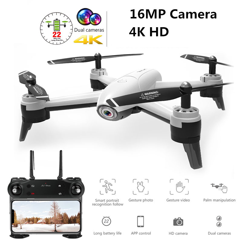 Nova 4 K Câmera Wi-fi FPV RC Zangão De Fluxo Óptico 1080 P HD Dual Camera Vídeo Aéreo RC Quadcopter Aircraft quadrocopter Brinquedos Do Miúdo