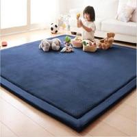 200*300 large Area Rugs Coral Fleece Mat Carpet Tatami Tea Table Bedroom Carpet Kids Living Room Fall proof Crawling mat Carpets