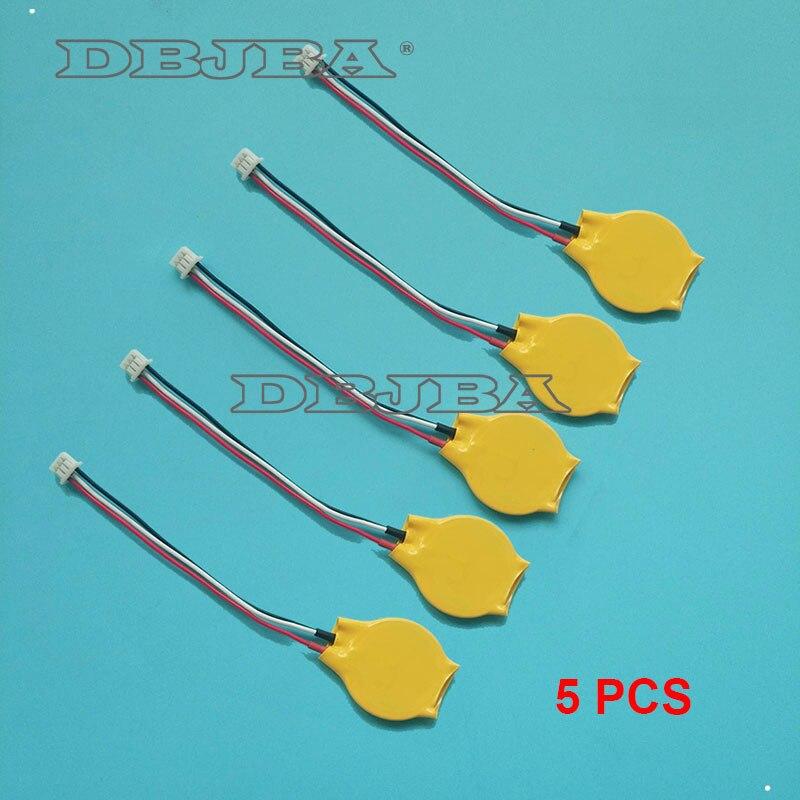 Portátil cmos bateria bios para dell latitude e6400 e6410 e6500 e6510 placa-mãe rtc 3 fio