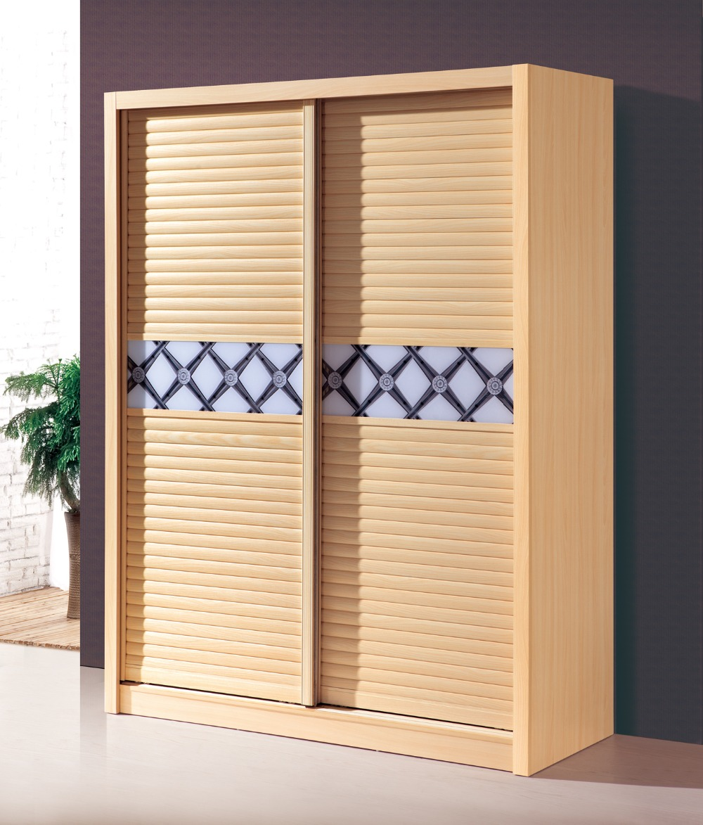 Wardrobes With Sliding Shutter Doors Melamine Bedroom Furniture Wardrobe In  Wardrobes From Furniture On Aliexpress.com | Alibaba Group
