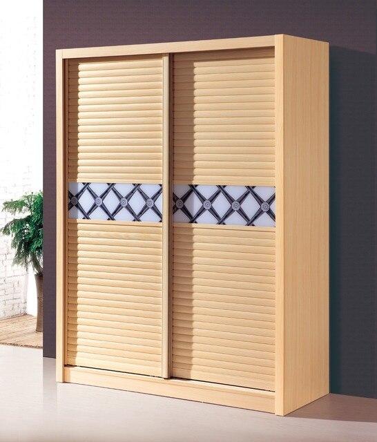 Wardrobes With Sliding Shutter Doors Melamine Bedroom Furniture Wardrobe