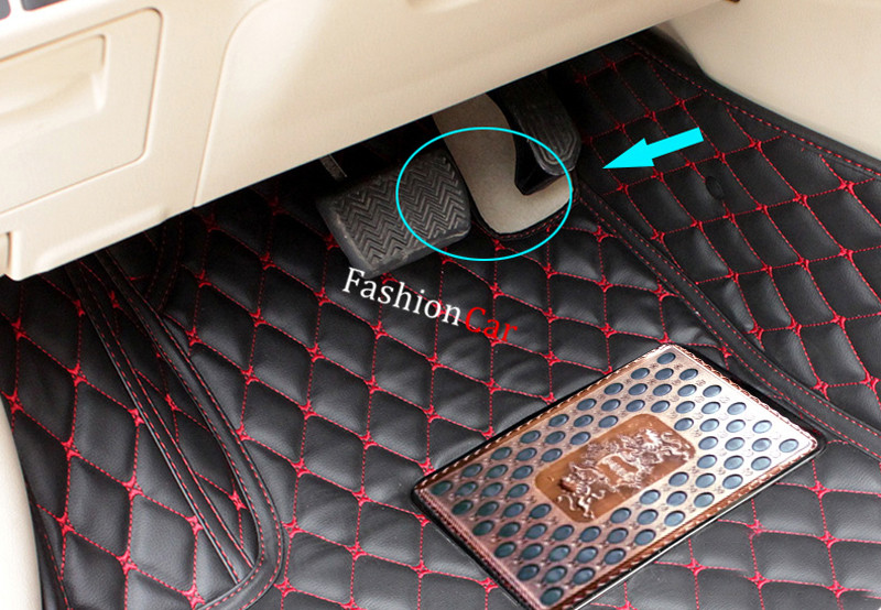 Car floor mats for TOYOTA Camry XV30 2001 2002 2003 2004 2005 2006 Car styling Foot mats camry sv 30 во владике