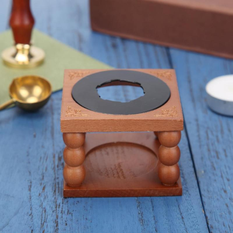 Retro Fire Wax Seal Beads Sticks Metal Wax Stick Sealing Wax Furnace Spoon Tool Stove Pot For Wax Seal Stamp Decorative Craft