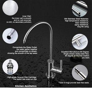 Image 4 - Кран для питьевой воды, обратный осмос, нержавеющая сталь 304