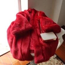 New Style High-end Fashion Women Faux Fur Coat 17S9