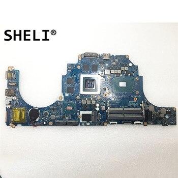 SHELI For Dell Alien-ware 17 R3 15 R2 Motherboard with I7-6820HQ GTX980M 8GB LA-C912P