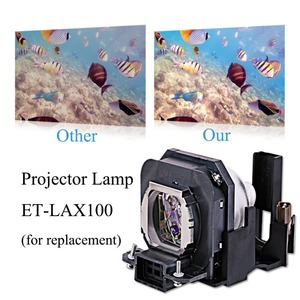 Image 2 - Projector Lamp bulb ET LAX100 for PANASONIC PT AX100 PT AX100E PT AX100U TH AX100 PT AX200 PT AX200E PT AX200U with housing