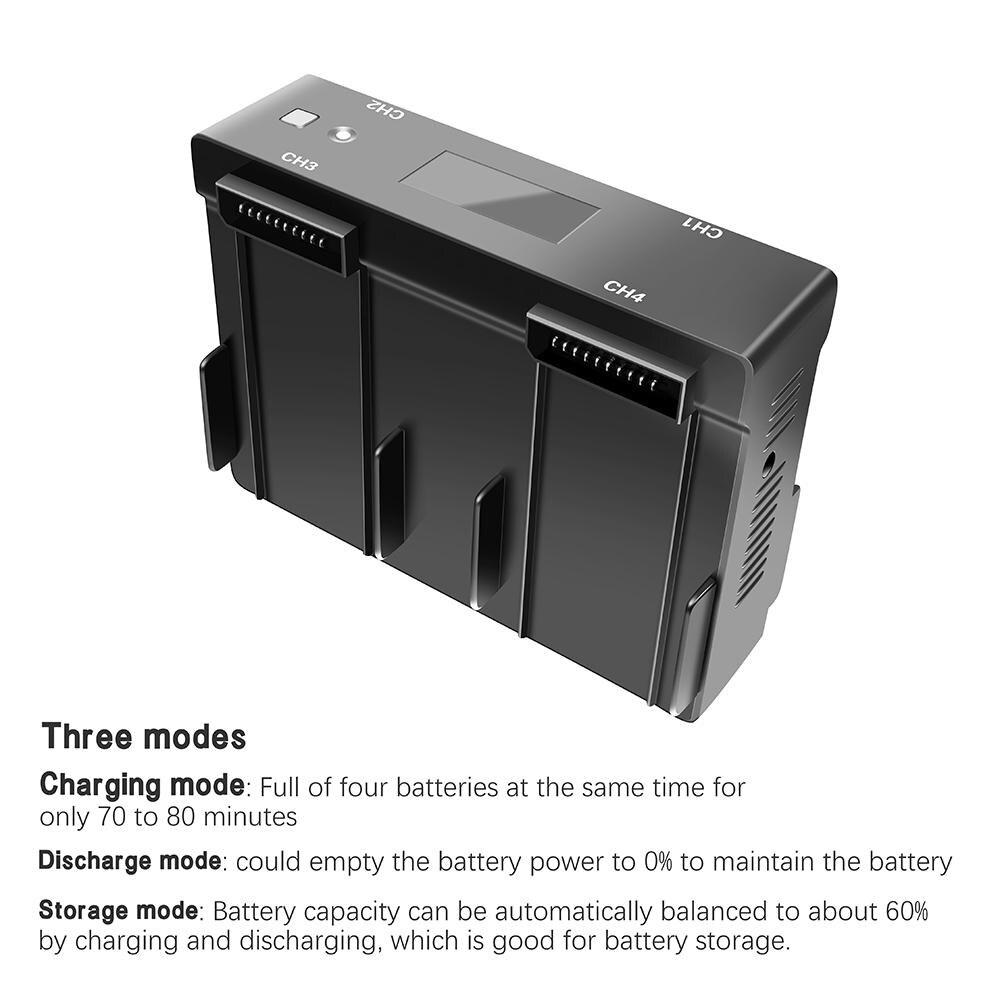 DSstyles для DJI Mavic 2 Pro 4 в 1 зарядное устройство для телефона планшета с дисплеем - 2