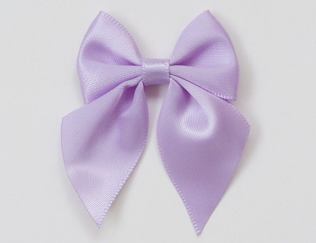 196 Colors Available Customised GARMENT ACCESSORIES satin bow Ribbon flowers Underwear decorative bows MOQ 300 PCS