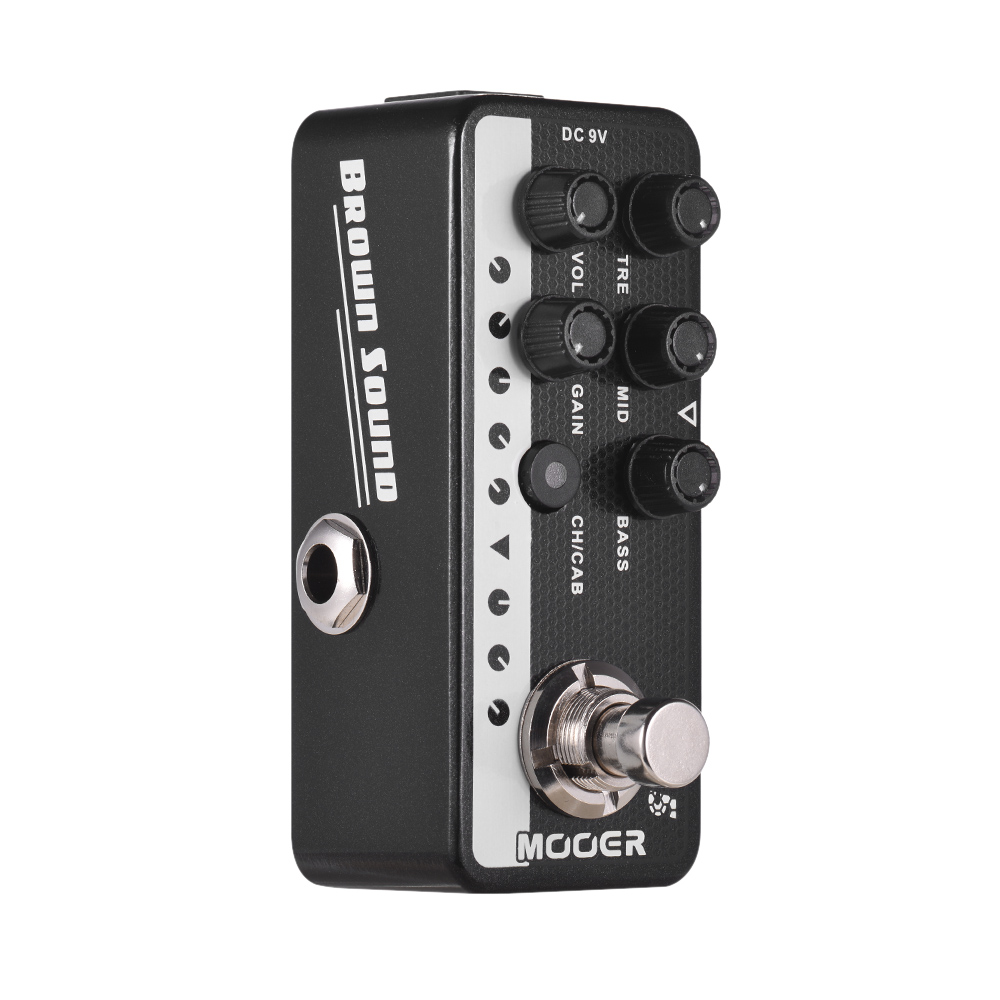 Mooer Brown Sound 015 Digital Micro PreAmp Guitar Pedal!
