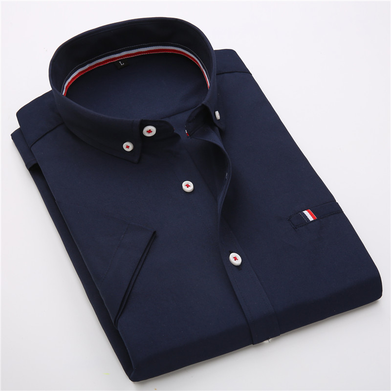 Мужчины Французский Рубашку Запонки 2017 Новый мужская Рубашка с коротким Рукавом Случайные мужской Бренд Рубашки Slim Fit Французский Манжеты Рубашки Для Мужчин