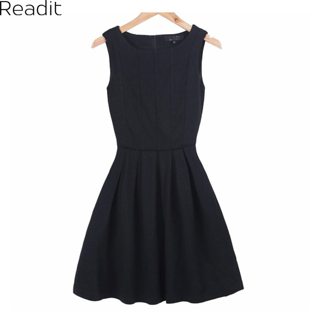 Women Summer Dresses Plus Size Pleated Skater Dress Praia Casual Women  Clothing Vintage Black Red Knitted Dress Vestido D006-in Dresses from  Women\'s ...
