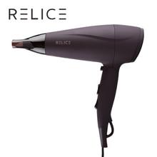RELICE HD-302 Potente Secador de Pelo Profesional Secador de Pelo Con Mango Plegable Secador de Pelo Potencia 2200 W Compacto Y Portátil